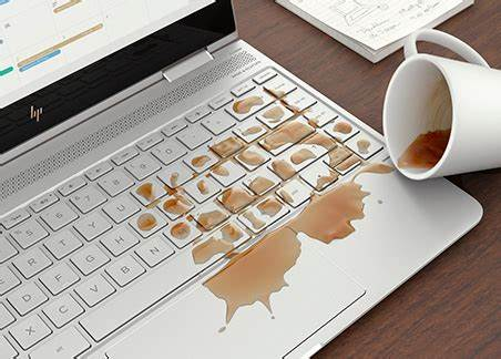 Máy tính bị dính nước